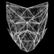 Poly-masking-Polygonal-strobe-colorful-3d-lines-mask-in-pink-vj-loop_005 VJ Loops Farm