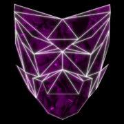 Poly-masking-Polygonal-strobe-colorful-3d-lines-mask-in-pink-vj-loop_006 VJ Loops Farm