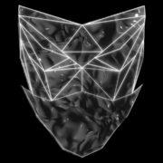 Poly-masking-Polygonal-strobe-colorful-3d-lines-mask-in-pink-vj-loop_007 VJ Loops Farm