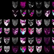 Polygonal-Mask-Face-strobe-pattern-motion-background-VJING-HD-vj-loop VJ Loops Farm
