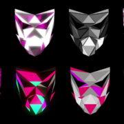 Polygonal-Mask-Face-strobe-pattern-motion-background-VJING-HD-vj-loop_007 VJ Loops Farm