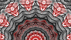 vj video background Red-Radial-Bridge-Kaleidoscopic-Full-HD-Motion-Background-Video-Art-VJ-Loop_003