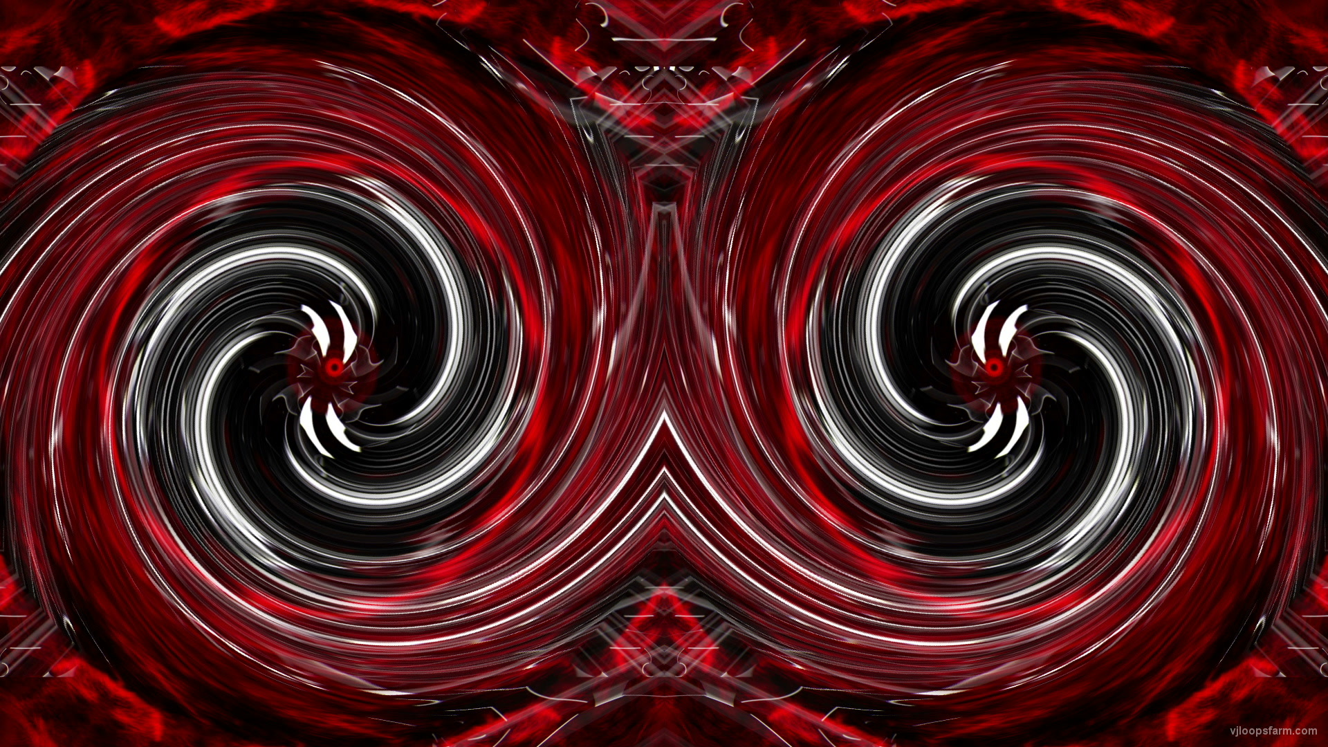 vj video background Red-black-twirl-eyes-stobe-Art-3d-Abstraction-VJ-Loop_003