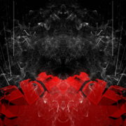 vj video background Abstract-Red-Flowing-fold-wall-with-glow-lines-4K-Video-Art-VJ-Loop-1920_003