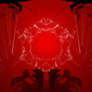 Abstract-Red-Flowing-fold-wall-with-glow-lines-4K-Video-Art-VJ-Loop-1920_007 VJ Loops Farm