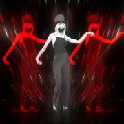 Beauty-Blonde-Girl-in-Covid-19-black-mask-dancing-on-Line-Motion-Background-4K-Video-Vj-Footage-1920_002 VJ Loops Farm