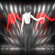 Beauty-Blonde-Girl-in-Covid-19-black-mask-dancing-on-Line-Motion-Background-4K-Video-Vj-Footage-1920_006 VJ Loops Farm
