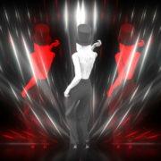 Beauty-Blonde-Girl-in-Covid-19-black-mask-dancing-on-Line-Motion-Background-4K-Video-Vj-Footage-1920_007 VJ Loops Farm