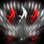Beauty-Blonde-Girl-in-Covid-19-black-mask-dancing-on-Line-Motion-Background-4K-Video-Vj-Footage-1920_008 VJ Loops Farm
