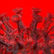 Corona-Virus-Covid19-Ball-Rotating-with-red-white-strobe-effect-4K-Video-VJ-Loop-1920_002 VJ Loops Farm
