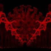 Covid19-Girl-in-mask-dancing-with-Virus-on-strobing-red-white-background-4K-Video-Art-VJ-Looped-Clip-1920_004 VJ Loops Farm
