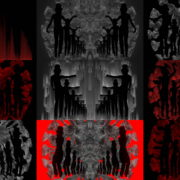 Covid2020-Virus-3D-Model-with-Dancing-Girls-on-Glitch-Background-4K-Video-VJ-Loop-1920 VJ Loops Farm