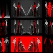 Dancing-Covid19-Girls-in-COrona-VIrus-Mask-in-Red-White-pixel-sorting-effect-4K-Video-Art-VJ-Loop-1920 VJ Loops Farm