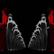 Dancing-Covid19-Girls-in-COrona-VIrus-Mask-in-Red-White-pixel-sorting-effect-4K-Video-Art-VJ-Loop-1920_006 VJ Loops Farm