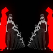 Dancing-Covid19-Girls-in-COrona-VIrus-Mask-in-Red-White-pixel-sorting-effect-4K-Video-Art-VJ-Loop-1920_007 VJ Loops Farm
