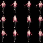 Double-Side-Girls-In-Mask-Empire-royal-woman-marching-Video-Art-4K-VJ-Footage-Looped-1920 VJ Loops Farm