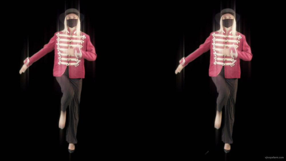 vj video background Double-Side-Girls-In-Mask-Empire-royal-woman-marching-Video-Art-4K-VJ-Footage-Looped-1920_003