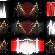 Light-dancing-moving-Girls-In-Mask-busines-woman-with-pixel-sorting-Video-Art-4K-VJ-Footage-Looped-1920 VJ Loops Farm