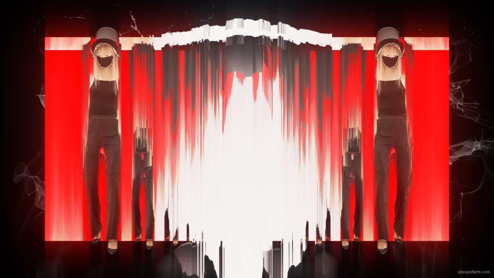 vj video background Light-dancing-moving-Girls-In-Mask-busines-woman-with-pixel-sorting-Video-Art-4K-VJ-Footage-Looped-1920_003
