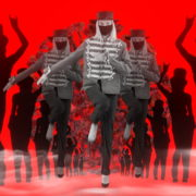 Marching-Girls-and-dancing-women-on-strobing-motion-background-4K-Corona-Virus-Video-Art-VJ-Loop-1920_008 VJ Loops Farm
