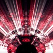 vj video background Massive-rays-of-red-light-streaks-through-liquid-surface-motion-background-Video-Art-Vj-Loop_003
