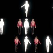 Neon-Strobe-Girls-In-Mask-Empire-royal-woman-marching-Video-Art-4K-VJ-Footage-Looped-1920 VJ Loops Farm