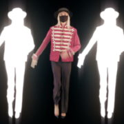 Neon-Strobe-Girls-In-Mask-Empire-royal-woman-marching-Video-Art-4K-VJ-Footage-Looped-1920_004 VJ Loops Farm