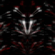 Rotating-Lines-Remixed-gloss-particles-on-violet-background-loop.-Slow-motion. VJ Loops Farm
