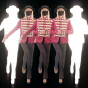 Strobing-Five-Girls-In-Mask-Empire-royal-woman-marching-Video-Art-4K-VJ-Footage-Looped-1920_001 VJ Loops Farm