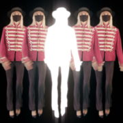 Strobing-Five-Girls-In-Mask-Empire-royal-woman-marching-Video-Art-4K-VJ-Footage-Looped-1920_005 VJ Loops Farm