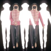 Strobing-Five-Girls-In-Mask-Empire-royal-woman-marching-Video-Art-4K-VJ-Footage-Looped-1920_009 VJ Loops Farm