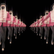 Tunnel-Double-Side-Girls-In-Mask-Empire-royal-woman-marching-Video-Art-4K-VJ-Footage-Looped-1920_001 VJ Loops Farm