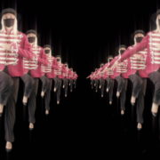 Tunnel-Double-Side-Girls-In-Mask-Empire-royal-woman-marching-Video-Art-4K-VJ-Footage-Looped-1920_002 VJ Loops Farm