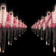 Tunnel-Double-Side-Girls-In-Mask-Empire-royal-woman-marching-Video-Art-4K-VJ-Footage-Looped-1920_004 VJ Loops Farm