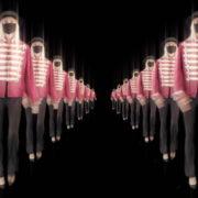 Tunnel-Double-Side-Girls-In-Mask-Empire-royal-woman-marching-Video-Art-4K-VJ-Footage-Looped-1920_005 VJ Loops Farm