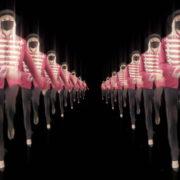 Tunnel-Double-Side-Girls-In-Mask-Empire-royal-woman-marching-Video-Art-4K-VJ-Footage-Looped-1920_006 VJ Loops Farm