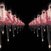 Tunnel-Double-Side-Girls-In-Mask-Empire-royal-woman-marching-Video-Art-4K-VJ-Footage-Looped-1920_007 VJ Loops Farm