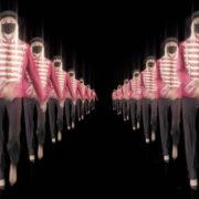 Tunnel-Double-Side-Girls-In-Mask-Empire-royal-woman-marching-Video-Art-4K-VJ-Footage-Looped-1920_009 VJ Loops Farm