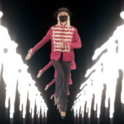 Tunnel-Three-Red-Girls-In-Mask-Empire-royal-woman-marching-Video-Art-4K-VJ-Footage-Looped-1920_001 VJ Loops Farm