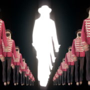 Tunnel-Three-Red-Girls-In-Mask-Empire-royal-woman-marching-Video-Art-4K-VJ-Footage-Looped-1920_005 VJ Loops Farm