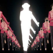 Tunnel-Three-Red-Girls-In-Mask-Empire-royal-woman-marching-Video-Art-4K-VJ-Footage-Looped-1920_008 VJ Loops Farm