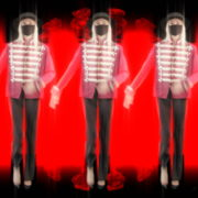 Virus-Trio-Girls-In-Mask-Empire-royal-woman-marching-Video-Art-4K-VJ-Footage-Looped-1920_004 VJ Loops Farm
