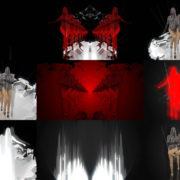 Visuals-Red-Marching-Girl-in-Go-Go-Dance-Costume-Video-Art-Strobing-Vj-loop-1920 VJ Loops Farm