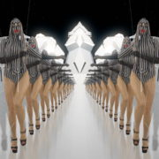 Visuals-Red-Marching-Girl-in-Go-Go-Dance-Costume-Video-Art-Strobing-Vj-loop-1920_004 VJ Loops Farm