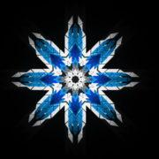 8-points-star-christmas-snowflake-blue-techno-sign-Video-Art-Vj-Loop_002 VJ Loops Farm