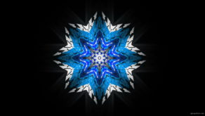 vj video background 8-points-star-christmas-snowflake-blue-techno-sign-Video-Art-Vj-Loop_003