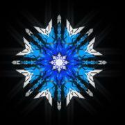 8-points-star-christmas-snowflake-blue-techno-sign-Video-Art-Vj-Loop_005 VJ Loops Farm