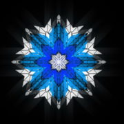 8-points-star-christmas-snowflake-blue-techno-sign-Video-Art-Vj-Loop_006 VJ Loops Farm