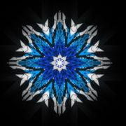 8-points-star-christmas-snowflake-blue-techno-sign-Video-Art-Vj-Loop_007 VJ Loops Farm