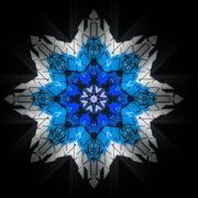 8-points-star-christmas-snowflake-blue-techno-sign-Video-Art-Vj-Loop_008 VJ Loops Farm